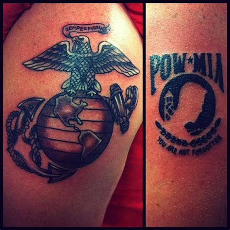 pow mia tattoos by jojo miller pow dynamic ink eternal ink