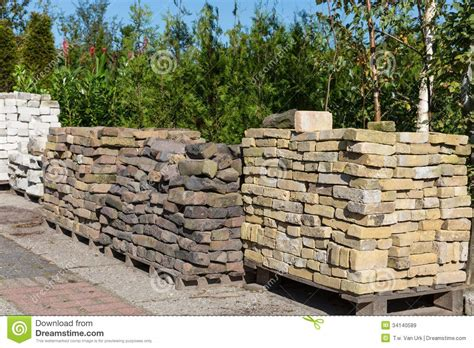 Garden Rocks For Sale Piles Of Ornamental Stones For Sale In A Garden Centre Stock Image Image Of Outside Patio