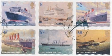 Great Britain Liners 2004 St Set 2004 liners gb sts 2001 2006 fu on gb commemorative used great britain