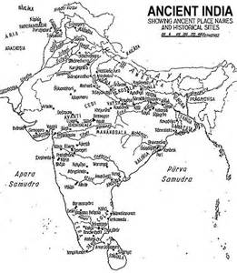 Map Of Ancient India by Ancient India Map Coinage Ancient India Map India
