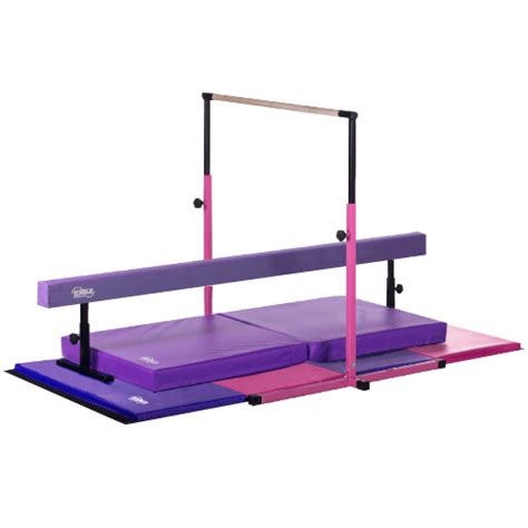 Gymnastics Mats And Bars by Deluxe Nimble Sports
