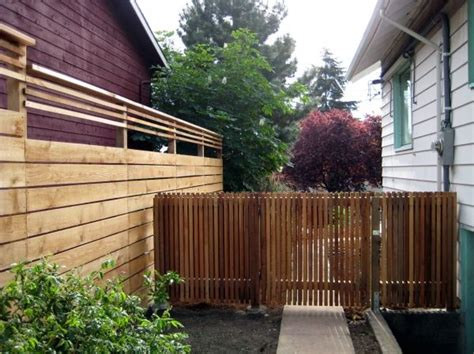 types of privacy fences for backyard 209 best horizontal fence images on pinterest wood