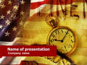 american history presentation template for powerpoint and