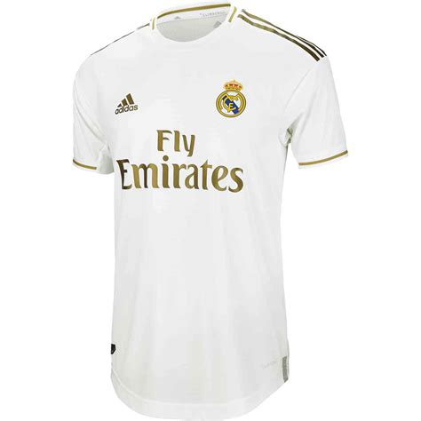 adidas real madrid home authentic jersey soccerpro