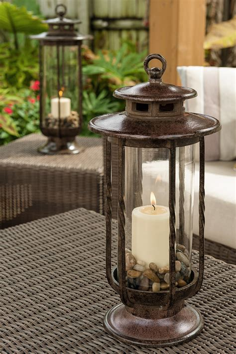 Glass Lantern Candle Holder by Decorative Hurricane Glass Candle Holder Lantern Id Lights