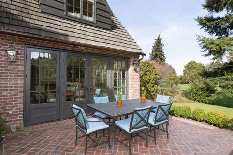 Backyard Garage Designs 25 Brick Patio Design Ideas Designing Idea