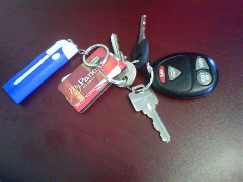 i lost my only car key what s on your keychain the college of