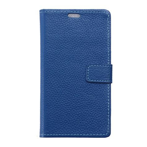 blue leather cover huawei honor 8 leather wallet blue