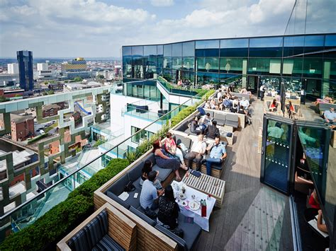 top bars manchester best rooftop bars in the uk for long summer night drinking