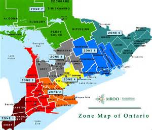 map of southern ontario canada with cities pictures to pin