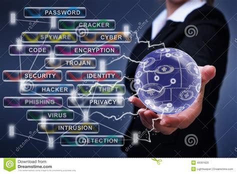 time cybersecurity hacking the web and you books social networking and cyber security concept stock photo