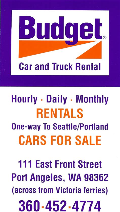 Port Angeles Rental Car by Services Rental Cars Sequim Valley Airport