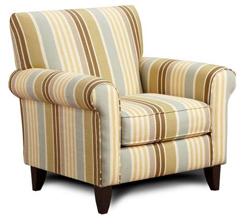 striped living room chair modern house