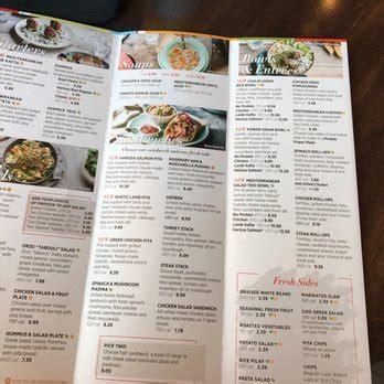 S Kitchen Vauxhall Nj Menu by Zoes Kitchen 59 Photos 71 Reviews Mediterranean