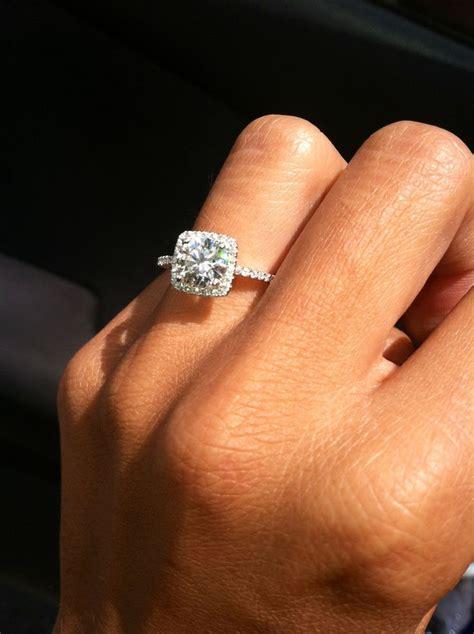 princess cut and band wow future wedding
