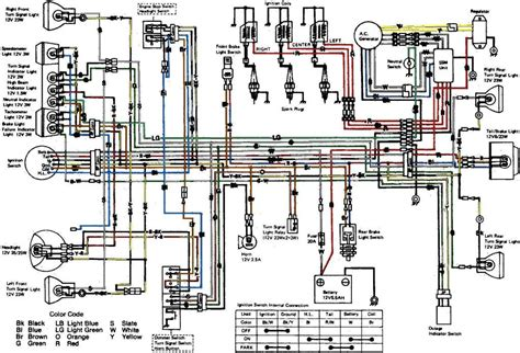 kawasaki klf 300 wiring diagram kawasaki bayou 300