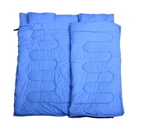two person pillow outsunny two person sleeping bag w pillows