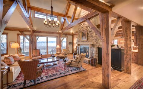 Barns Plans by Custom Timber Frame Homes Frameworks