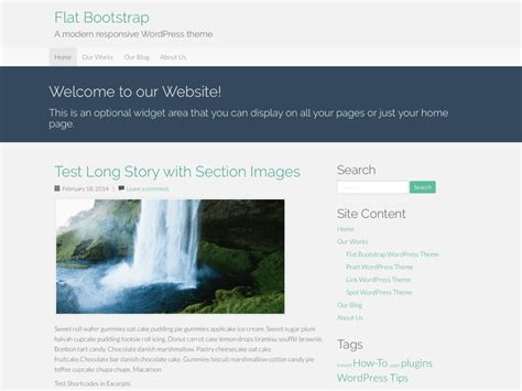 bootstrap themes detector flat bootstrap wordpress theme download review 2018