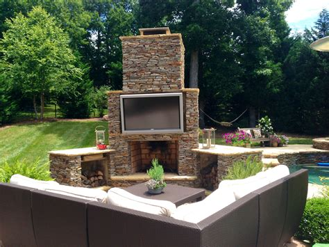 backyard tv want to have a man cave in your backyard archadeck of charlotte