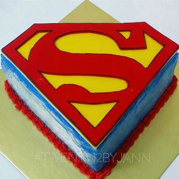 superman cake raising faith