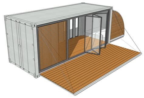 Cube House Plans by 20ft Containerhaus Mobilheim Mobilhaus