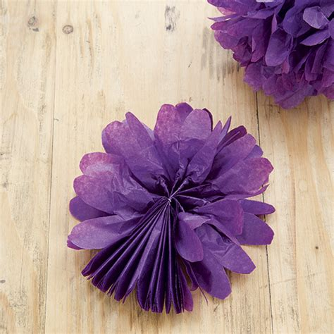 Steps For Paper Flowers - create pretty paper flowers in 3 easy steps ideal home
