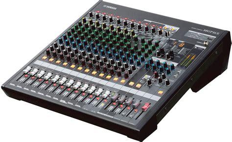 Mixer Yamaha Mgp16x yamaha mgp16x 16 input 4 mixer