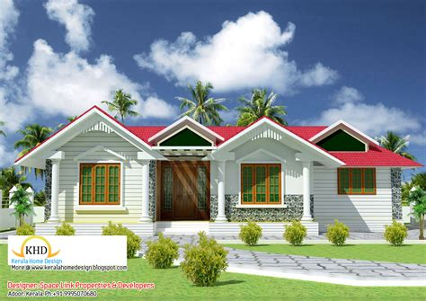 kerala home design one floor plan best one story house plans single floor house plans in