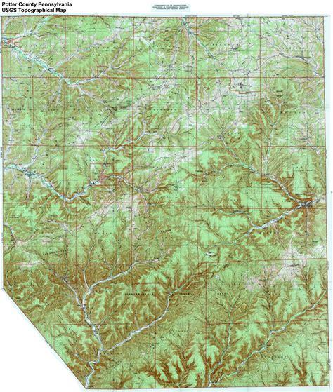 Treasure House Designs Johnson City Tn potter county pennsylvania information file map of