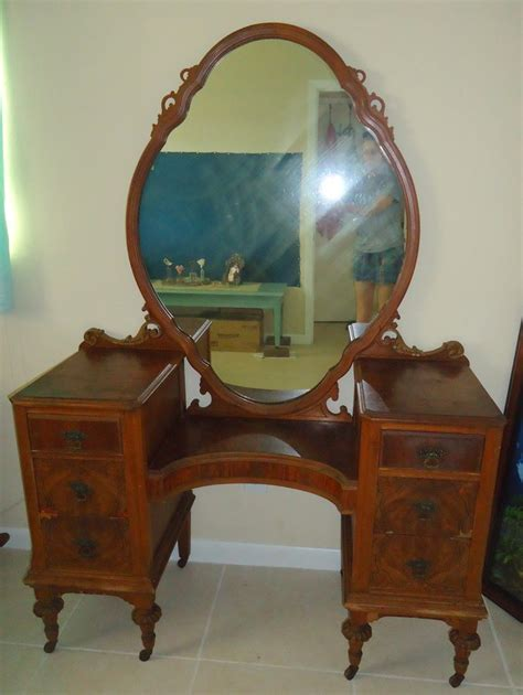 Antique Makeup Vanity Value Vanity My Antique Furniture Collection