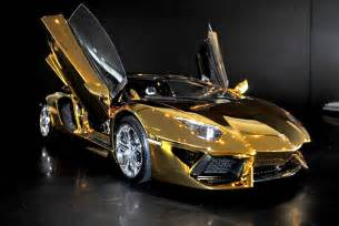 A Gold Lamborghini A Solid Gold Lamborghini And 6 Other Supercars New York Post