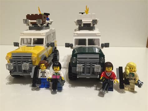 Expedition E6678m Green Yellow lego ideas land rover photo expedition