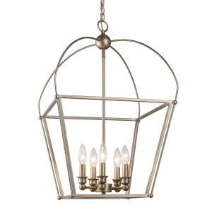 agnew appliance furniture bel air lighting agnew 5 light antique silver leaf pendant