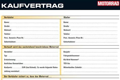 Adac Kaufvertrag Roller Vorlage by Kaufvertrag Motorrad Kaufvertrag Muster Motorrad Images