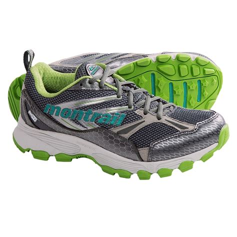 waterproof trail running shoes womens montrail badrock outdry 174 trail running shoes