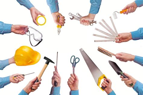 set a basic diy kit 7 tools and products for home