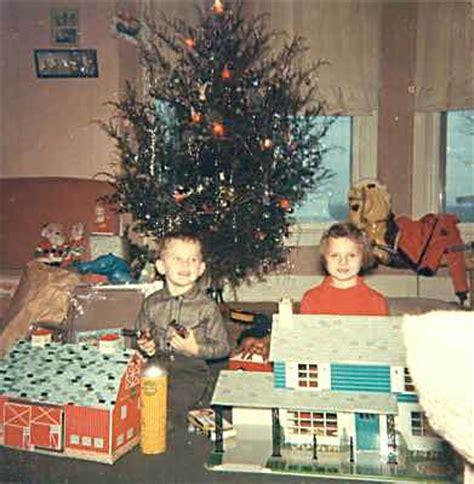 1960s christmas morning photos debra reid and her