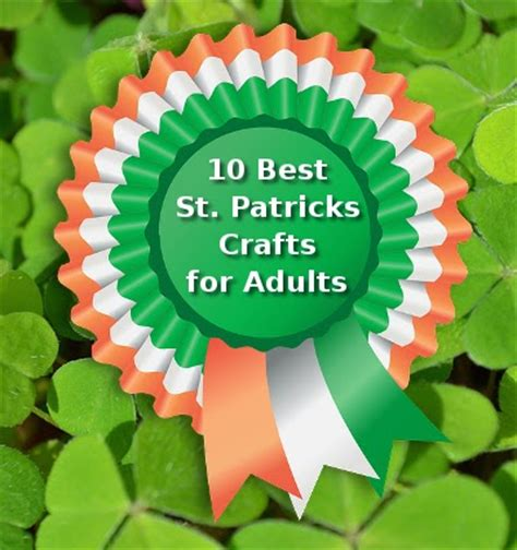 craftymarie 10 best st patrick s day crafts for adults