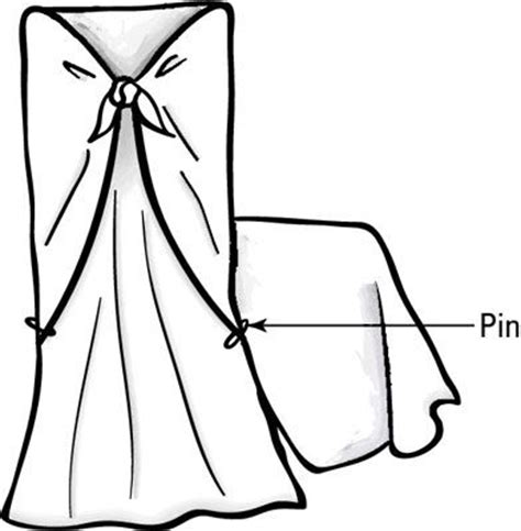 Diy No Sew Dining Room Chair Covers No Sew Slip Covers For Dining Room Chairs How To Drape And