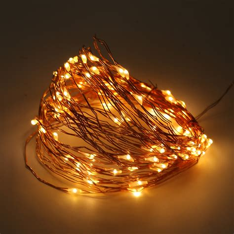solar powered christmas lights white solar powered warm white 10m 100led copper wire outdoor