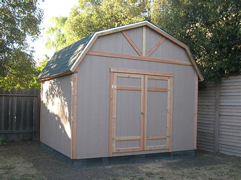 california custom sheds gambrel roof