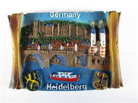 Souvenir Germany Magnet Kulkas Germany magnet heidelberg crest germany poly 3d relief souvenir germany new ebay