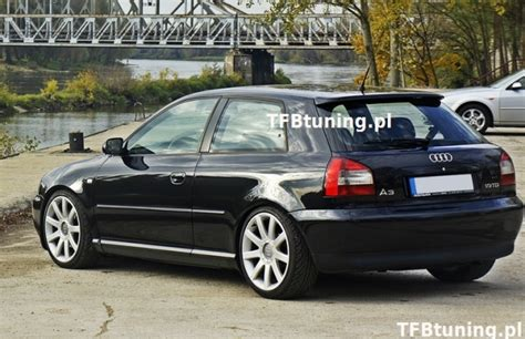 Audi S3 8l Spoiler audi a3 8l spoiler nad szybę s3 look tfb tuning