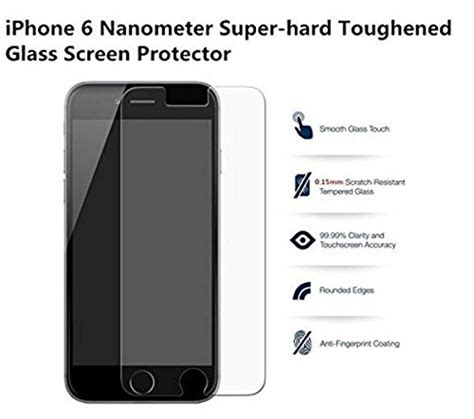 Smart Tempered Glass Protection Screen 03mm For Iphone 1 iphone 6 tempered glass screen protector for apple iphone 6 6s 9h 0 3mm protect my phones