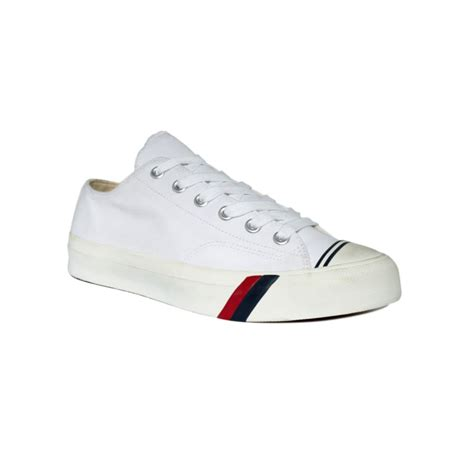 keds royal lo canvas sneakers in white for lyst