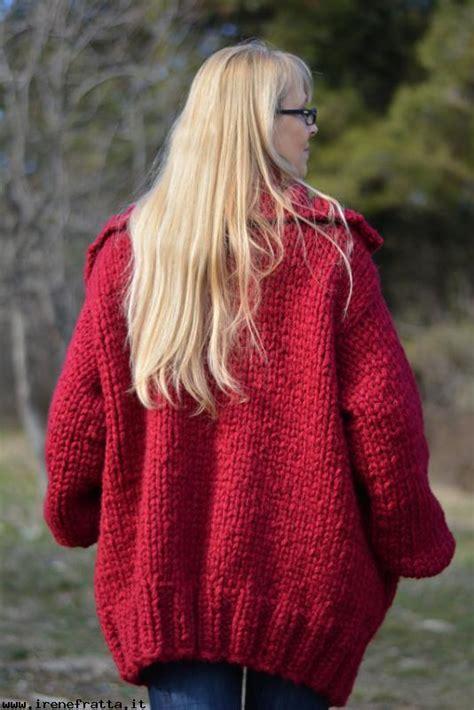 donna store donna store cardigan in fatti a mano a maglia