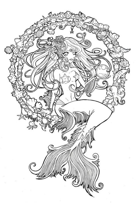 coloring pages for adults mermaid coloring pages coloring pages on coloring pages for