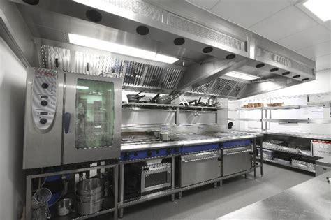 hotel kitchen design space installs a first class kitchen fit for a 5 star