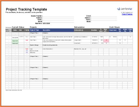 Project Management Excel Spreadsheet by 8 Project Management Spreadsheet Excel Excel